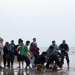 پشت صحنه فیلم سینمایی «مهاجر کوچولو»