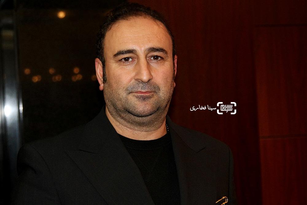 مهران احمدی در اکران خصوصی فیلم «ماحی»