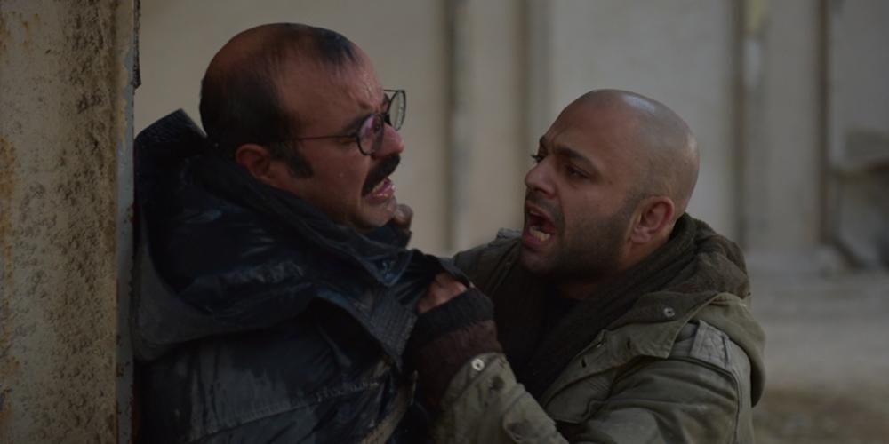 صابر ابر و سعید آقاخانی در فیلم من دیه گو مارادونا هستم