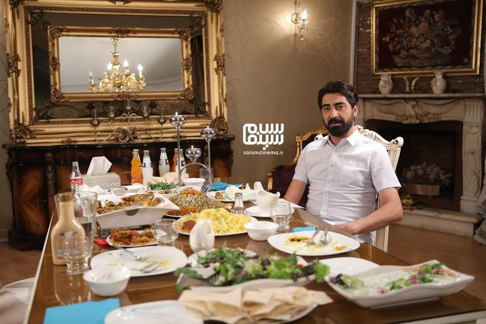 محمدرضا علیمردانی در شب اول رئالیتی شوی «شام ایرانی»