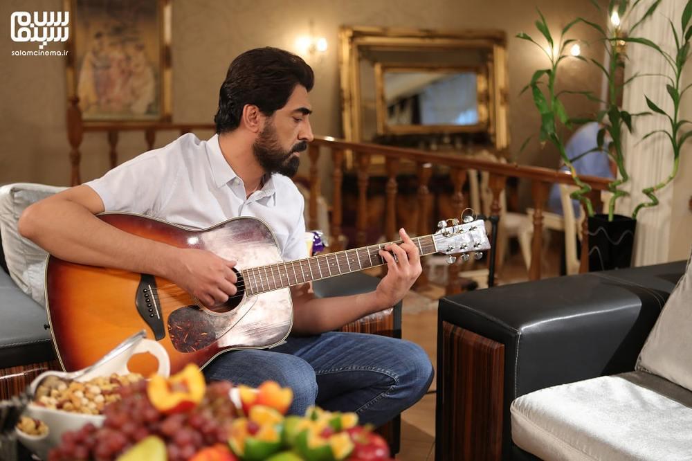 محمدرضا علیمردانی در نمایی از شب اول «شام ایرانی»
