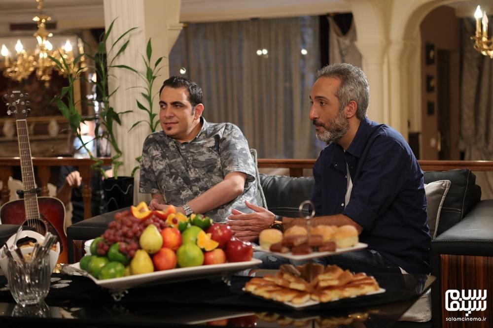 محمد لقمانیان و امیرمهدی ژوله در شب اول «شام ایرانی»