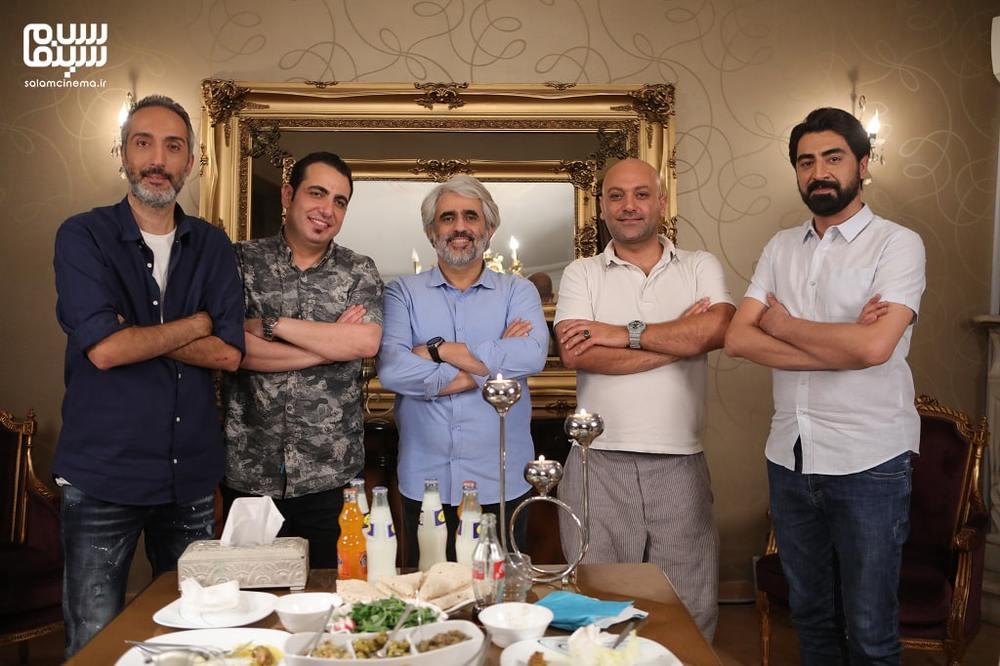 پشت صحنه شب اول «شام ایرانی» به میزبانی محمدرضا علیمردانی