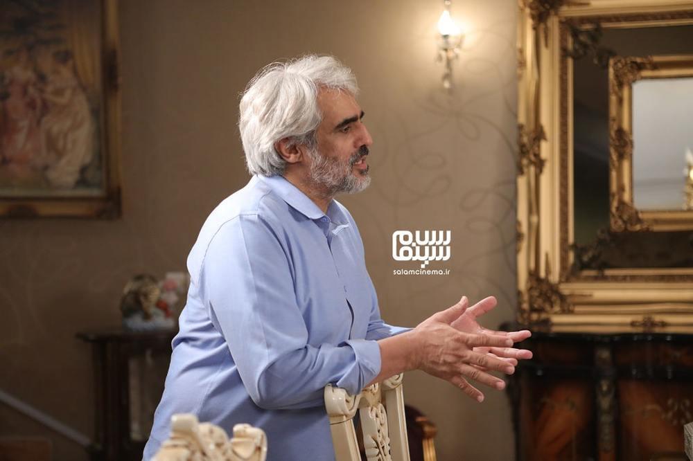سعید ابوطالب در پشت صحنه شب اول «شام ایرانی» به میزبانی محمدرضا علیمردانی