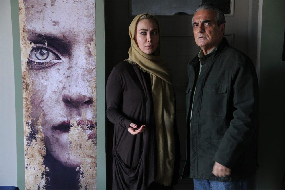 آنا نعمتی و همایون ارشادی در نمایی از فیلم «ماحی»