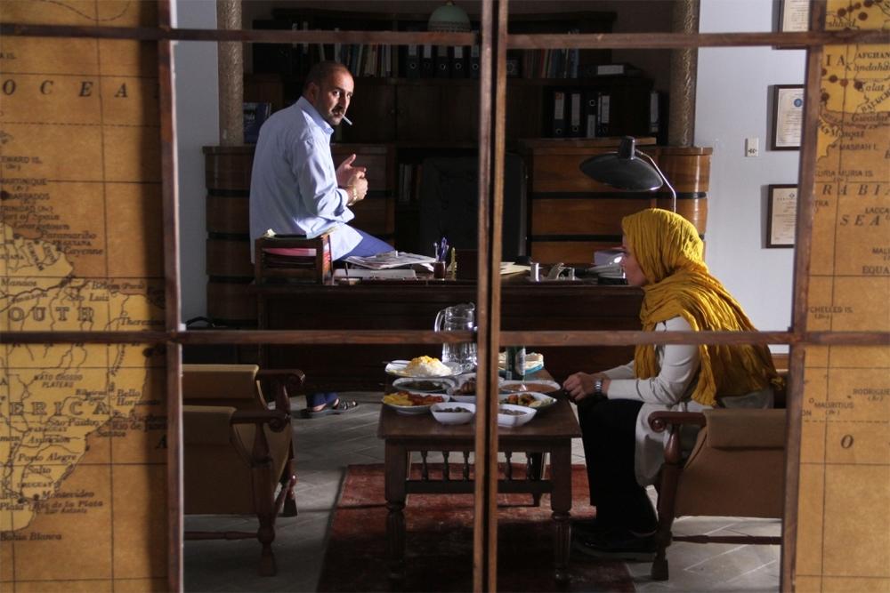 مهران احمدی در نمایی از فیلم «ماحی»