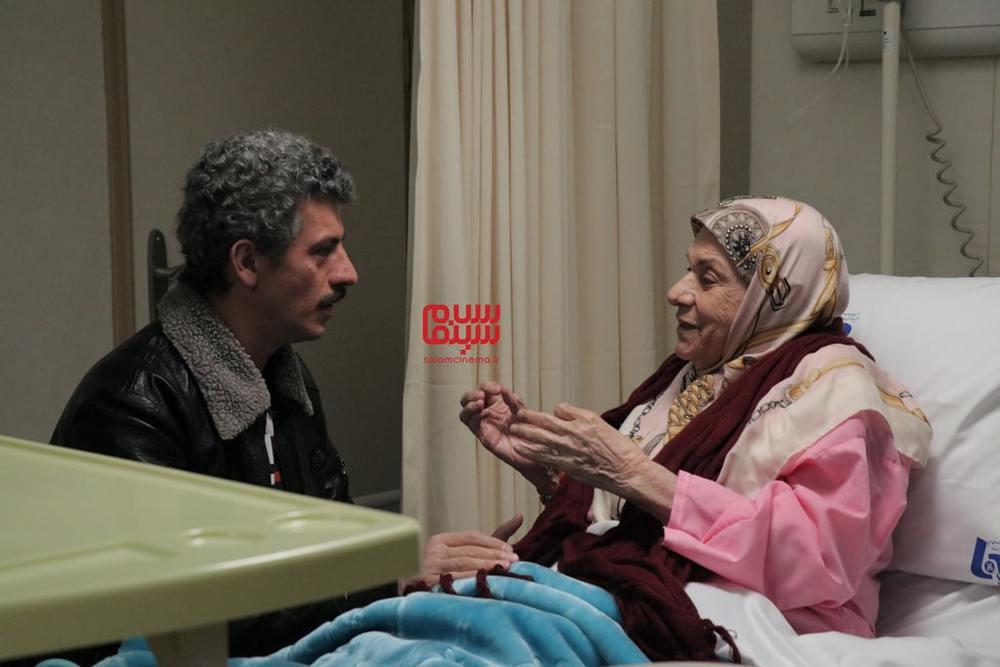 صدیقه کیانفر و سیروس همتی در فیلم «زن ها فرشته اند 2»