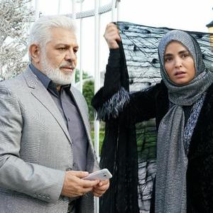 پرویز فلاحی پور و سپیده خداوردی در سریال «خانه امن»