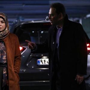 سیما تیرانداز و شهروز ابراهیمی در سریال «خانه امن»