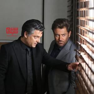 محمدرضا گلزار و حسین یاری در سریال «گیسو»