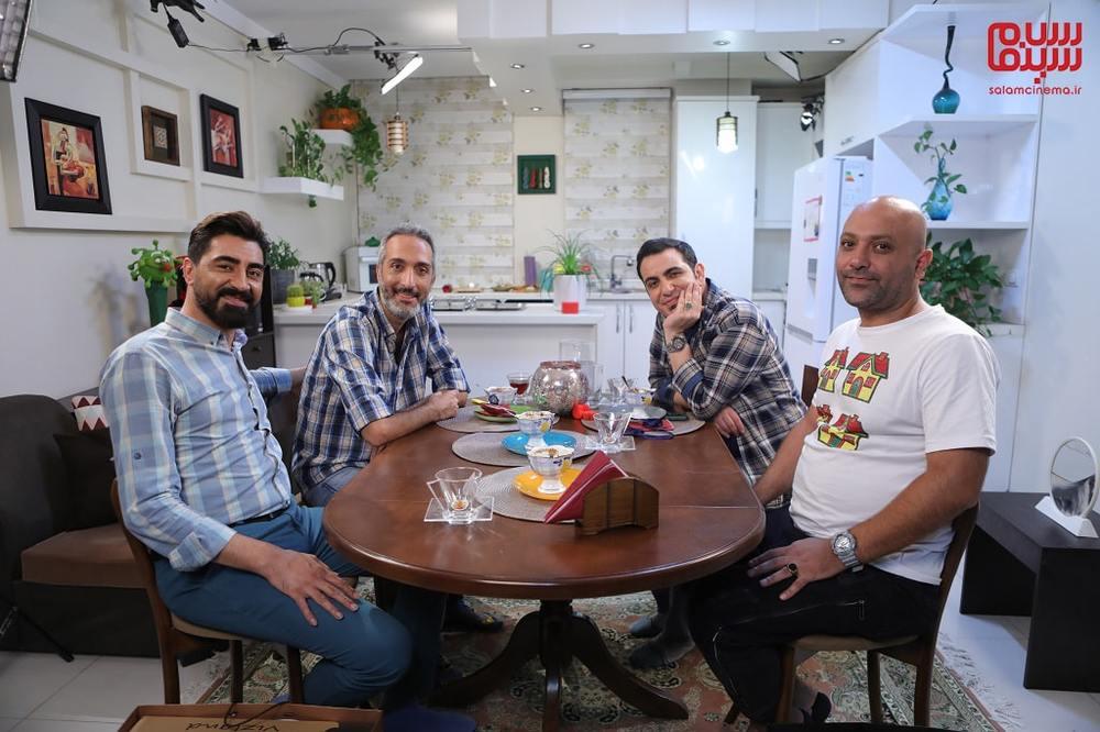 مهدی کوشکی، محمدرضا علیمردانی، محمد لقمانیان و امیرمهدی ژوله در شب دوم «شام ایرانی»
