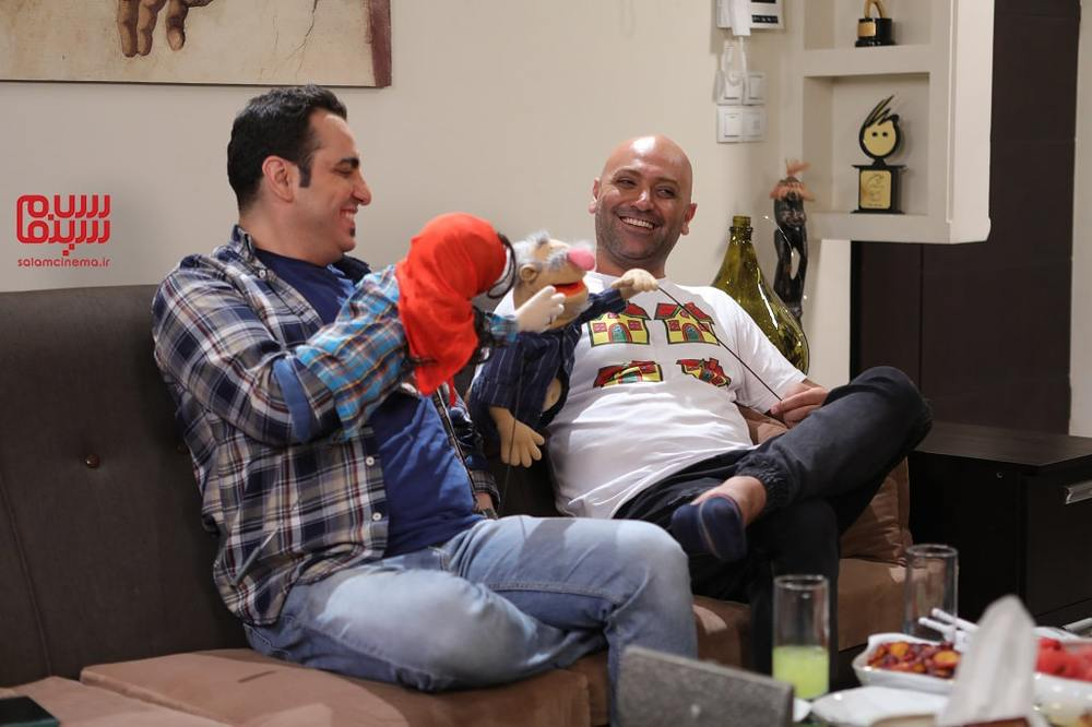 مهدی کوشکی و محمد لقمانیان در شب دوم رئالیتی شوی «شام ایرانی»