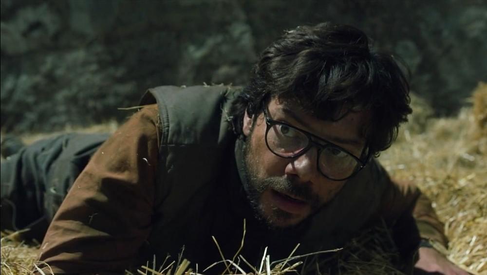 آلوارو مورته در سریال «خانه کاغذی» (Money Heist)