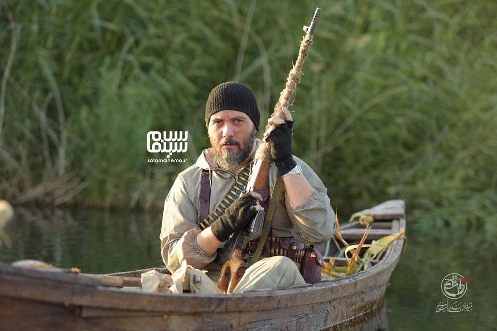 کامبیز دیرباز در فیلم سینمایی «تک تیرانداز»
