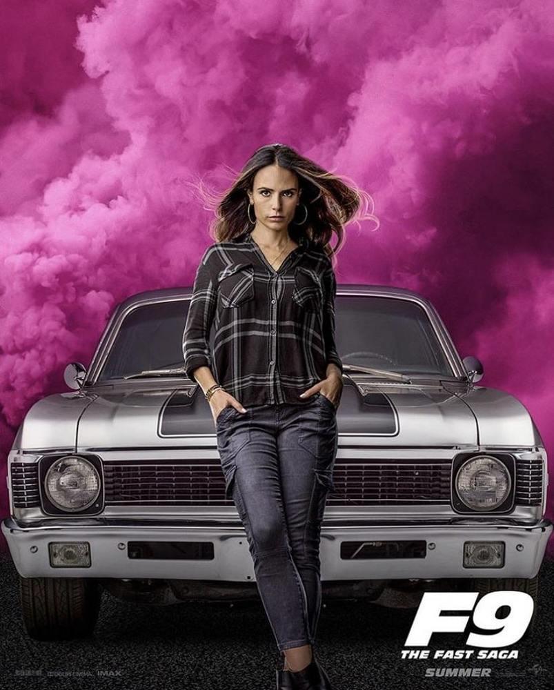 جوردانا بروستر در پوستر فیلم «سریع و خشن 9» (F9)