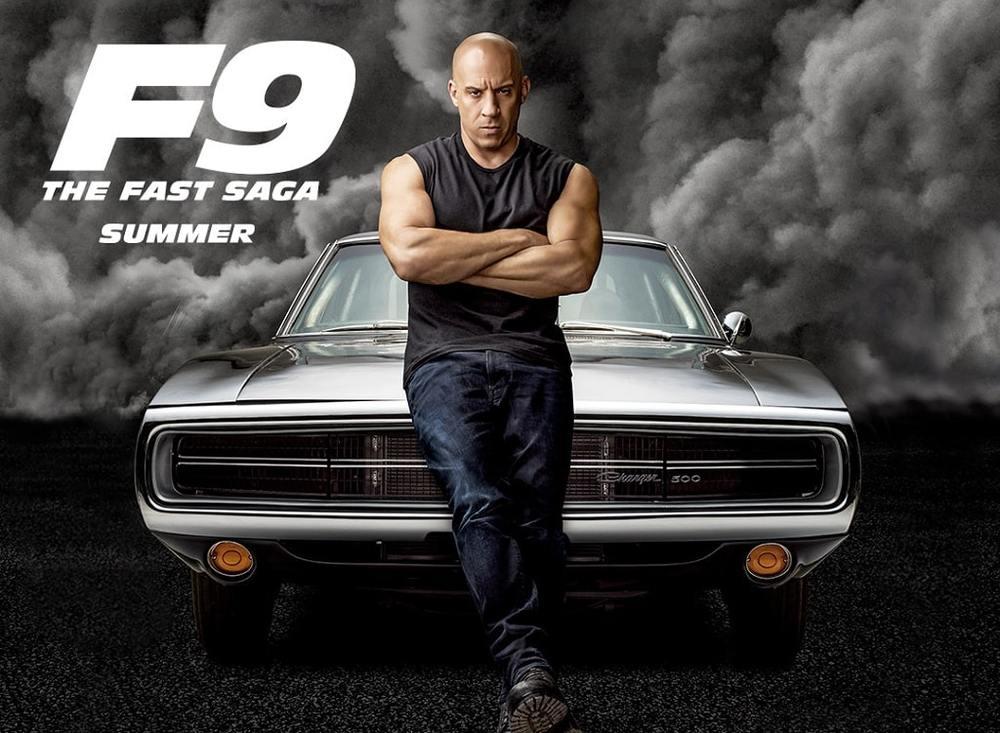 وین دیزل در پوستر فیلم «سریع و خشن 9» (F9)