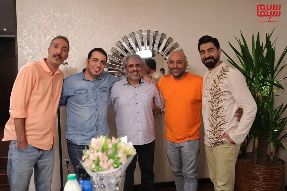 پشت صحنه ی شب چهارم «شام ایرانی» به میزبانی امیرمهدی ژوله