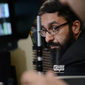 سعید نقدزاده در پشت صحنه سریال «پردیس»
