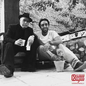 حسام خلیل نژاد و اکبر زنجانپور در پشت صحنه سریال «تنهایی لیلا»