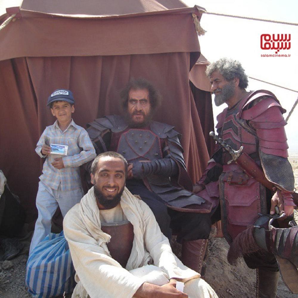 حسام خلیل نژاد در پشت صحنه سریال «مختارنامه»