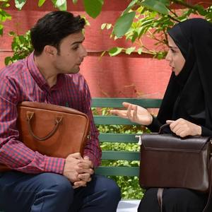 فرشاد کلباسی و بهار داورزنی در سریال «پردیس»