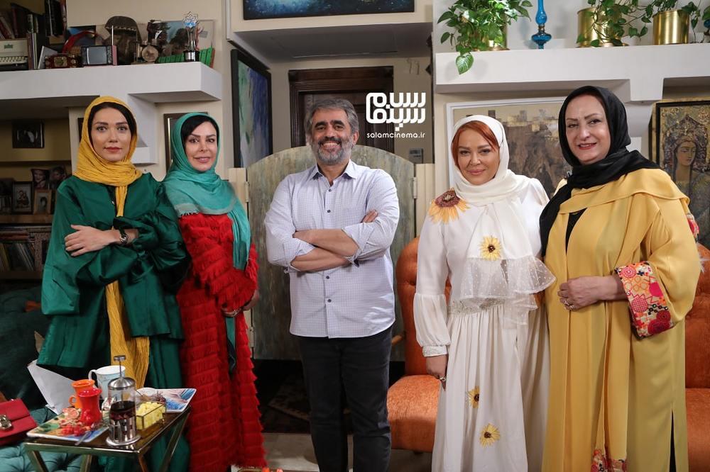 پشت صحنه شب اول «شام ایرانی» به میزبانی بهاره رهنما