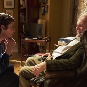 آنتونی هاپکینز و الیویا کلمن در فیلم «پدر» (The Father)