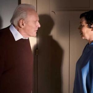 آنتونی هاپکینز و الیویا کلمن در نمایی از فیلم «پدر» (The Father)