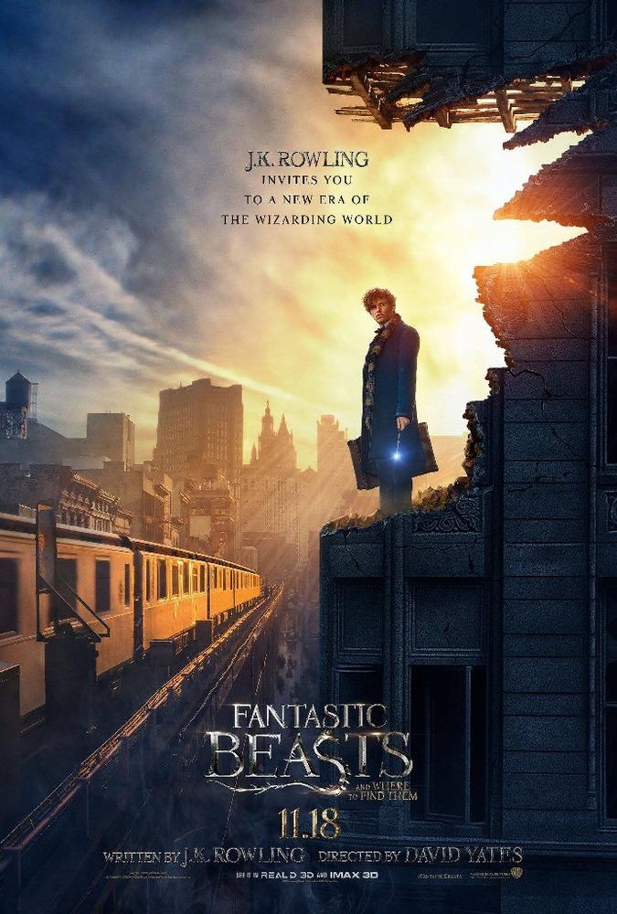پوستر فیلم «جانوران شگفت انگیز و زیستگاه آن ها»(Fantastic Beasts and Where to Find Them)