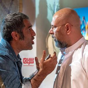 پژمان جمشیدی و محمد بحرانی در سریال «خوب بد جلف : رادیواکتیو»