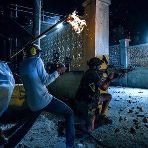 پشت صحنه فیلم «13 ساعت: سربازان مخفی بنغازی»