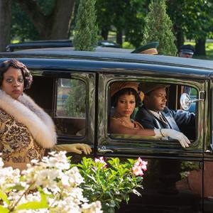 تیلور پیج و وایولا دیویس در فیلم «بلک باتم ما رینی» (Ma Rainey's Black Bottom)