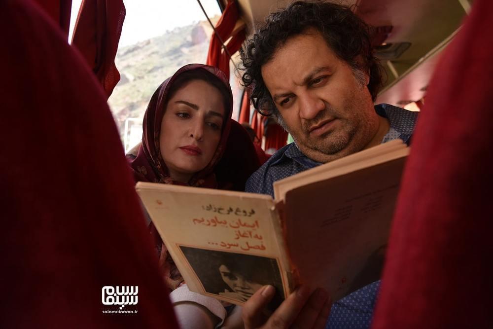 مهراب قاسم خانی و شقایق دهقان در فیلم «ناگهان درخت»