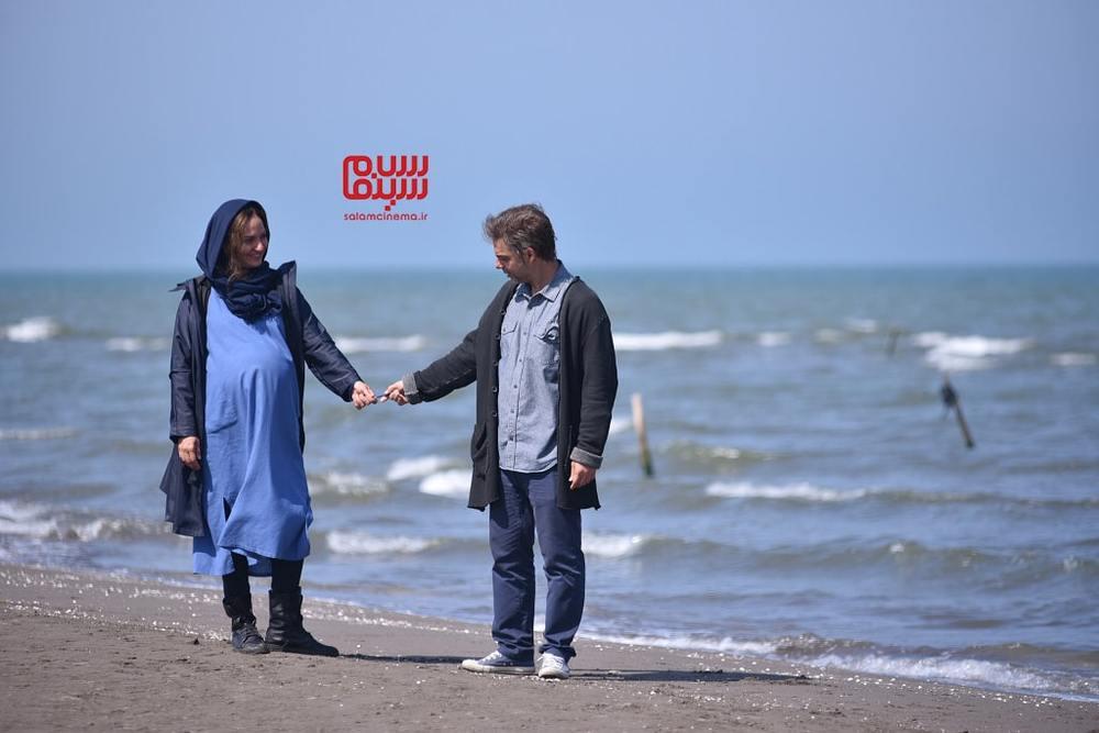 نمایی از فیلم سینمایی «ناگهان درخت» با بازی پیمان معادی و مهناز افشار