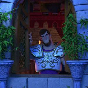 نمایی از انیمیشن شاهزاده روم