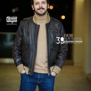 پدرام شریفی در اکران فیلم «بی همه چیز» در سی و نهمین جشنواره فیلم فجر