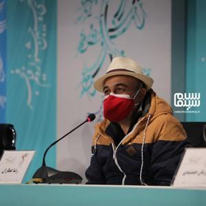 رضا عطاران در نشست خبری فیلم «شیشلیک» در سی و نهمین جشنواره فیلم فجر