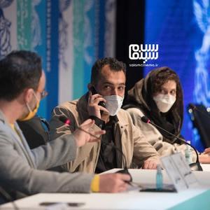 هاتف علیمردانی در نشست خبری فیلم «ستاره بازی» در سی و نهمین جشنواره فیلم فجر