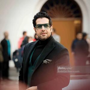 کامران تفتی در آیین رونمایی از فیلم «پارمیدا» در موزه سینما