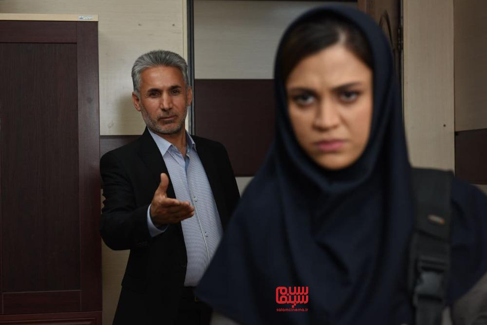 شیدا خلیق و فرید محمدی در فیلم «هرماس»