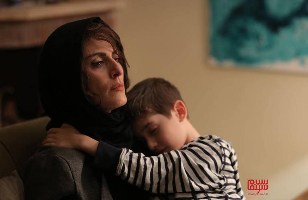 بهناز جعفری و حسام رحیمی منش در فیلم «روز آخر»