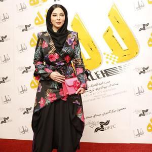 لیلا اوتادی در اکران خصوصی فیلم سینمایی «لاله»