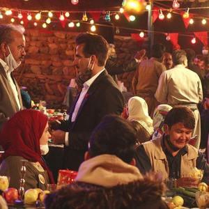 سعید آقاخانی و پاشا جمالی در سریال «نون.خ - فصل 3»