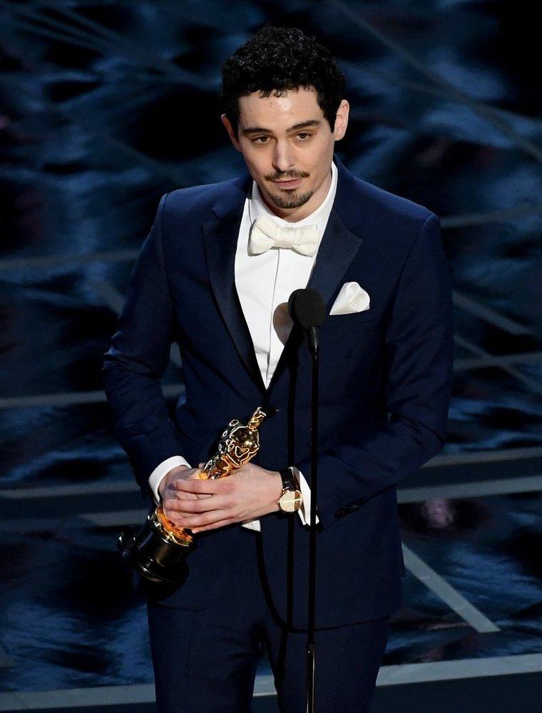 دیمین شزل برنده اسکار بهترین کارگردانی برای فیلم «سرزمین لالا»(La La Land)