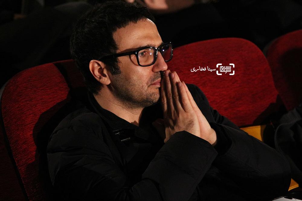 محمدرضا فروتن در اکران خصوصی فیلم «نمی خواهم زنده بمانم»