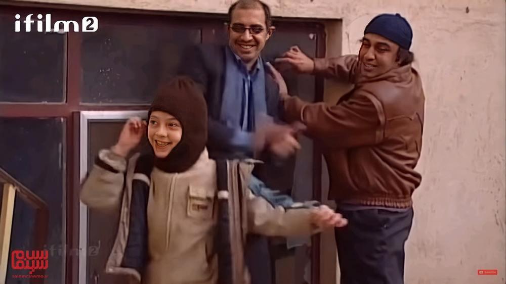 رضا عطاران، سیدرضا حسینی و سیدحسام صالحی در سریال «ترش و شیرین»