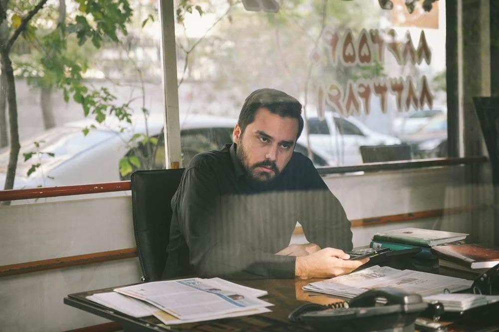 محمد حیدری در فیلم «قصیده گاو سفید»