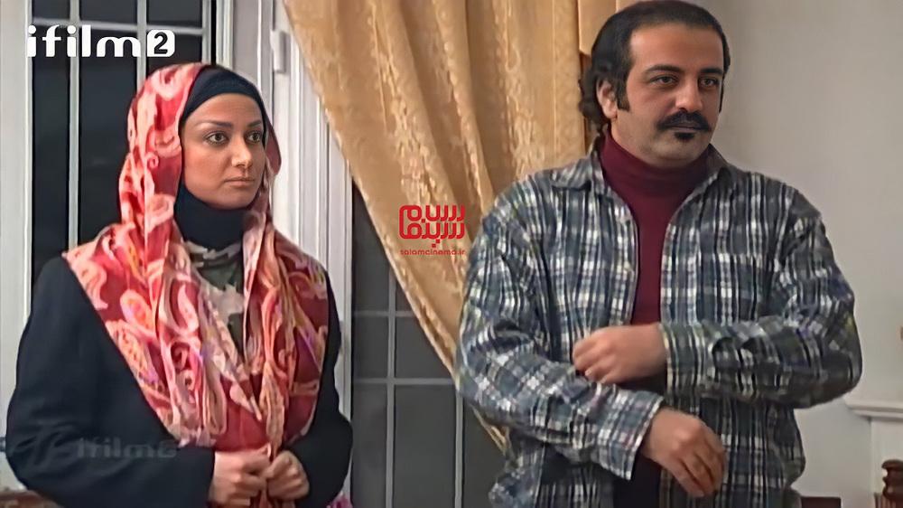 جواد یحیوی و پرستو مقدم در سریال «ترش و شیرین»