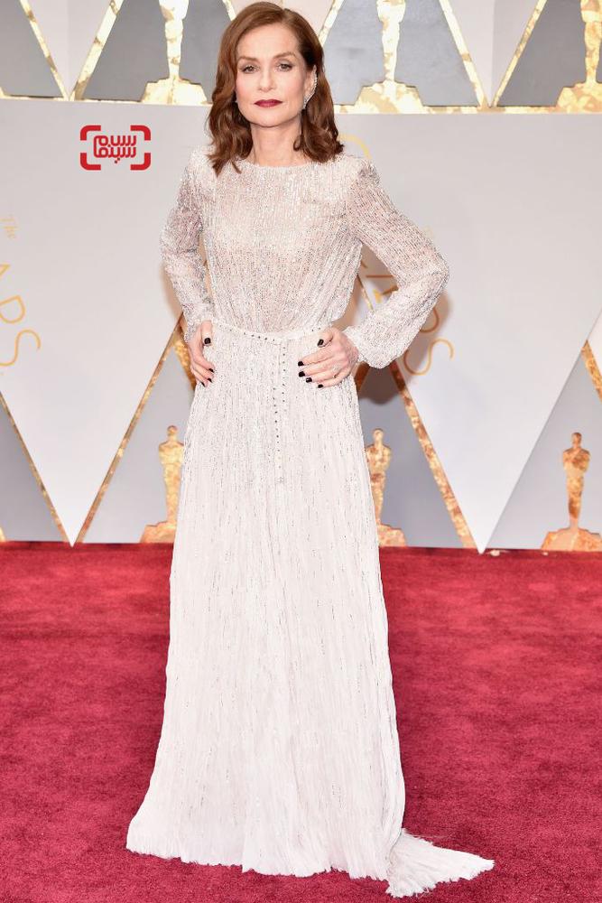 ایزابل هوپر نامزد بهترین بازیگر نقش اول زن برای فیلم «او»(Elle) در اسکار 2017
