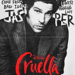 جوئل فرای در پوستر فیلم «کروئلا» (Cruella)